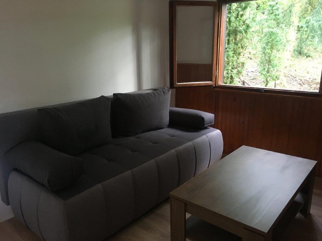 Obývací pokoj - rozkládací sedačka